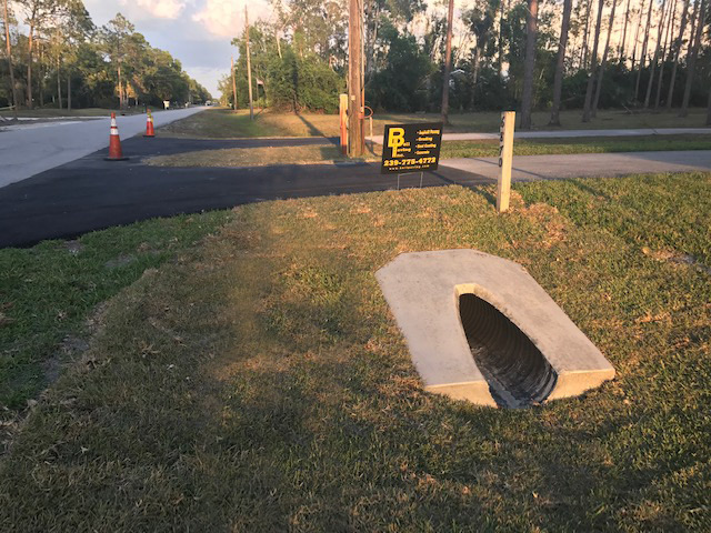 Repair Maintain Culvert Systems Bell Paving Naples Fort Myers